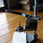 レザークラフトの音の出ない菱目打ち機械を自作してみる