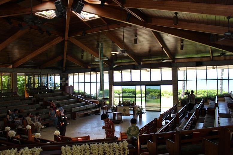 キャルバリーバイザシー教会での結婚式の手配の仕方