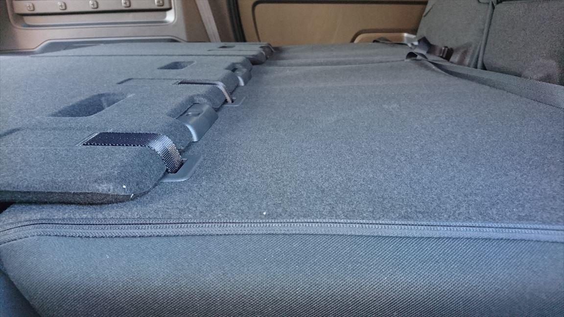 フリードプラス 車中泊モード2